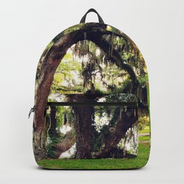 Live Oak Tree with Spanish Moss Backpack