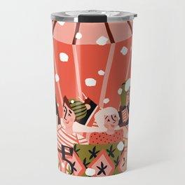 Christmas Coffee Carousel Travel Mug