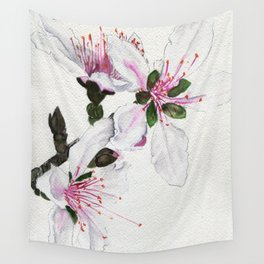Delicate Pyrotechnics Wall Tapestry