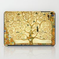 gustav klimt iPad Cases featuring Gustav Klimt The Tree Of Life  by Art Gallery