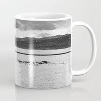 twin peaks Mugs featuring Twin Peaks by Jennifer L. Craft
