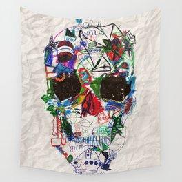 Ruzgars Skull Wall Tapestry