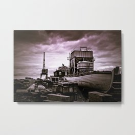 Charlestown Navy Yard Metal Print