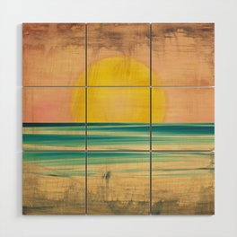 Ocean Sunset 1.0 Vintage Wood Wall Art