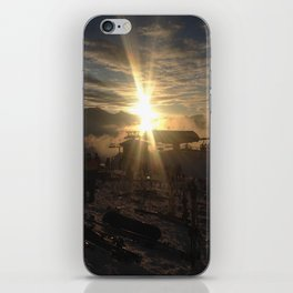 Mountain Sunset iPhone Skin