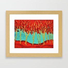 Twilight Woods #335 (ARTIST TRADING CARDS) by Mike Kraus- valentine's day gifts presents girlfriend Framed Art Print