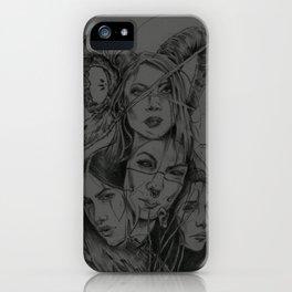 Blackthorne Sisterhood iPhone Case