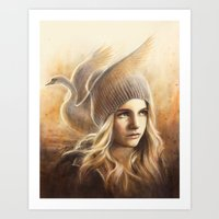 My Name Is Emma Swan Art Print