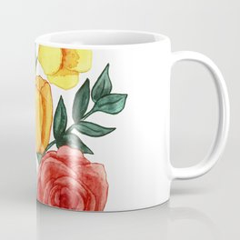Watercolor Flower Bouquet Coffee Mug