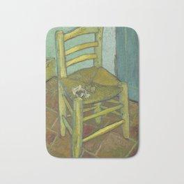 Van Gogh's Chair Bath Mat