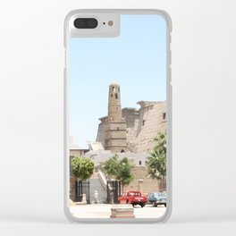 Temple of Luxor, no. 14 Clear iPhone Case
