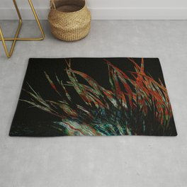 Ancient feathers Rug