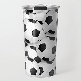 Soccer Ballls Travel Mug