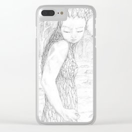 Decided Clear iPhone Case