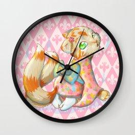 Neko-mata Wall Clock