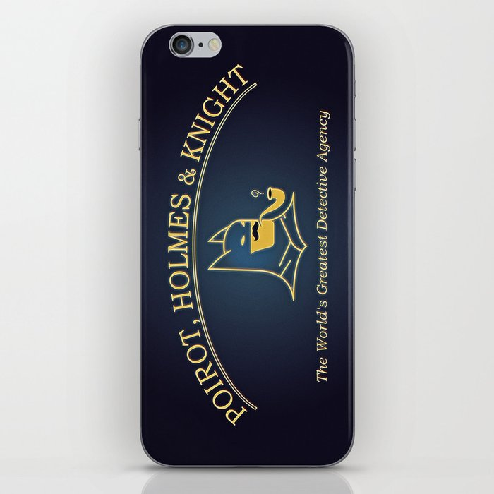 Great Detectives iPhone Skin