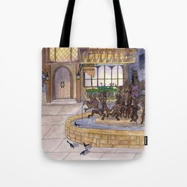 Early Morning at the Eolian Tote Bag