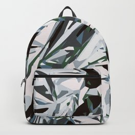silver foil Backpack