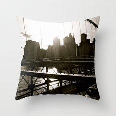 WHITEOUT : Take Me There Throw Pillow