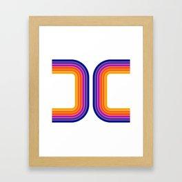 Rainbow Tunnel Framed Art Print
