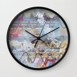 words  Wall Clock