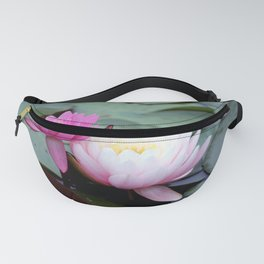 Pink Water Lily Duo #1 Fanny Pack