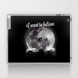 I want to believe Laptop & iPad Skin