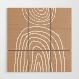 Abstract Rainbow, Wood Wall Art