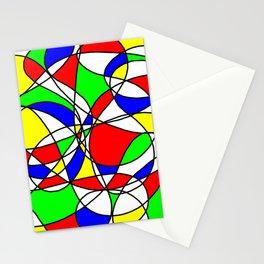 Randomly Retro Primary Stationery Cards