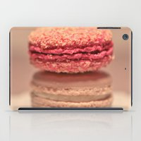 macaroons iPad Cases featuring Coconut Macaroons by Serena Jones Photography