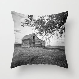 Standing On Memory Alone Throw Pillow