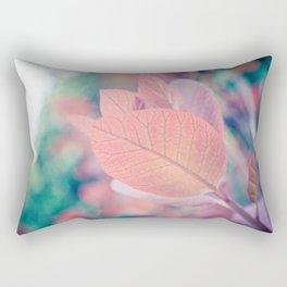 Natures Watercolor Rectangular Pillow