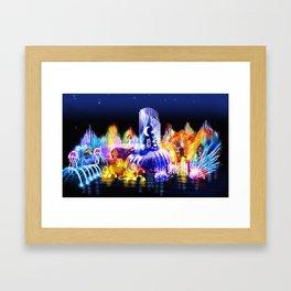 Test2 Framed Art Print