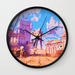 Columbia - The City in the Sky Wall Clock