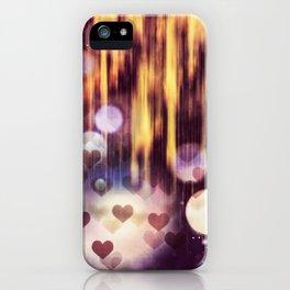 Falling hart iPhone Case