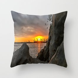 Distant Dream - Pirates Cove Throw Pillow