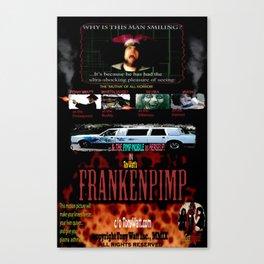 Frankenpimp (2009 ) - 'Original Worldwide Movie Poster' Canvas Print