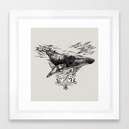 Whaling Framed Art Print