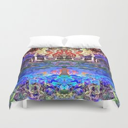 Temple of Dreams Duvet Cover