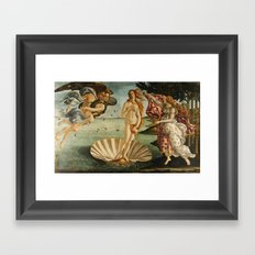 The Birth of Venus (Nascita di Venere) by Sandro Botticelli Framed Art Print