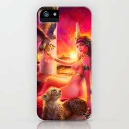 {Seven Sins-Wrath} Isis the Queen iPhone Case