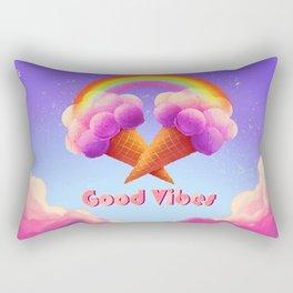 Good Rainbow vibes Rectangular Pillow
