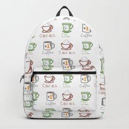 Hot Drinks (Color) Backpack