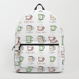 Hot Drinks (Color) Backpack