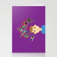 nerd Stationery Cards featuring Nerd by Mouki K. Butt