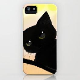 Neko cute! iPhone Case