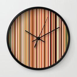 Old Skool Stripes - Morning Wall Clock