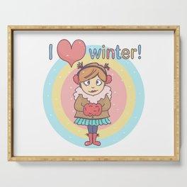 Winter Cutie Serving Tray