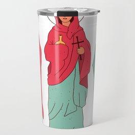 Holy Cross women Travel Mug