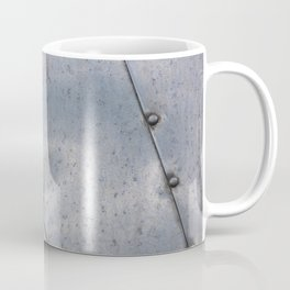 Grunge metal background or texture with scratches and cracks Coffee Mug